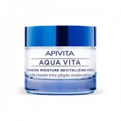 Apivita AQUA VITA Crema Hidratante Avanzada Revitalizante Pieles Normales/Secas - 50 ml