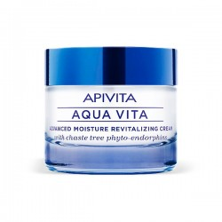 Apivita AQUA VITA Crema Hidratante Avanzada Revitalizante Pieles Muy Secas - 50 ml