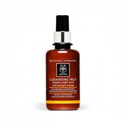 Apivita CLEANSING Leche Limpiadora Piel Normal y Seca - 200 ml