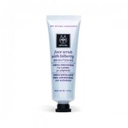 Apivita FACE SCRUB Crema Exfoliante Facial Iluminadora - 50 ml