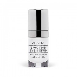 Apivita 5 ACTION EYE SERUM Serum Contorno de Ojos - 15 ml