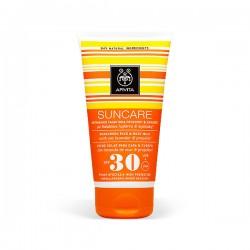 Apivita SUNCARE Crema Solar Rostro y Cuerpo SPF 30 - 150 ml