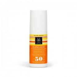 Apivita SUNCARE Crema Solar Rostro y Cuerpo SPF 50 - 150 ml