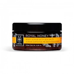 Apivita ROYAL HONEY Exfoliante Corporal con Sales Marinas y Miel - 250 g