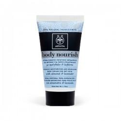 Apivita BODY NOURISH Mini Crema Corporal Hidratante y Nutritiva - 50 ml