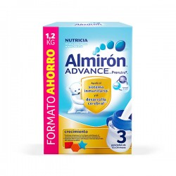 Almirón ADVANCE 3 Leche de Crecimiento - FORMATO AHORRO 1200 g