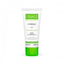 URIAGE Hyséac MAT` Emulsión Hidratante Matificante - 40 ml