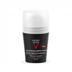 Vichy HOMME Desodorante Anti - transpirante CONTROL EXTREMO 72h Roll-On - 50 ml