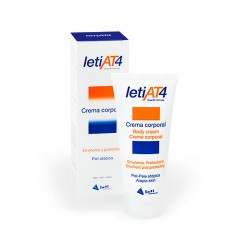 Leti AT4  Crema Corporal Emoliente - 200 ml