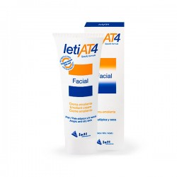 Leti AT4 Crema Facial Emoliente - 50 ml