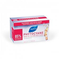 PhytoCyane Tratamiento Anticaída para Mujer - 12 ampollas