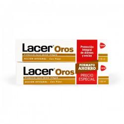 Lacer OROS Pasta Dentífrica - DUPLO 2 x 125 ml