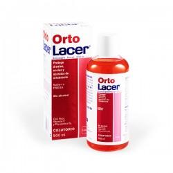 OrtoLacer Colutorio Sabor Fresa - 500 ml