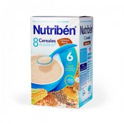 Nutribén 8 Cereales con Galletas María - 600 g
