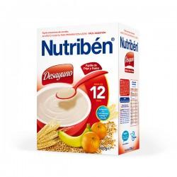 Nutribén Desayuno Papilla de Trigo y Frutas - 900 g