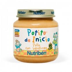 Nutribén Potito de Inicio Pollo con Verduras - 130 g