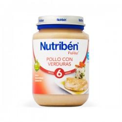 Nutribén Potito Pollo con Verduras - 200 g