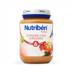 Nutribén Potito Ternera con Verduras - 200 g
