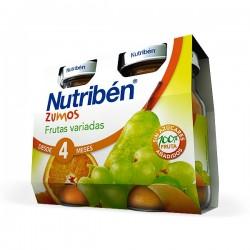 Nutribén Zumos Frutas Variadas - 2 unidades x 130 ml