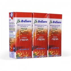 Bi-OralSuero Fresa - 3 unidades x 200 ml