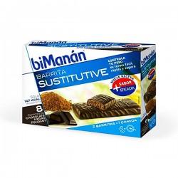 biManán Chocolate Negro Fondant – 8 barritas