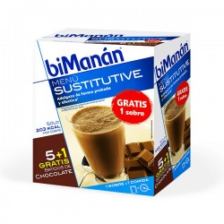 biManán Sustitutive Batido de Chocolate - 5 sobres de 50 g