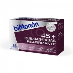 biManán 45+ QUEMAGRASAS REAFIRMANTE - 48 cápsulas