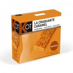 KOT Barritas Crujientes de Cereales con Caramelo - 6 barritas