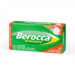 Berocca Perfomance Sabor Frutos Rojos - 30 comprimidos efervescentes
