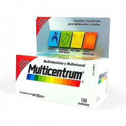 Multicentrum con Luteina - 100 comprimidos