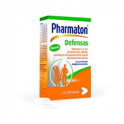 Pharmaton Defensas - 28 cápsulas
