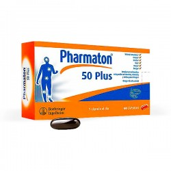 Pharmaton 50 Plus - 60 cápsulas