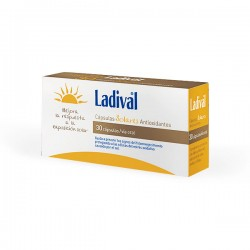 Ladival Cápsulas Solares Antioxidantes - 30 cápsulas