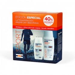 Fotoprotector ISDIN Promoción Especial Fusion Water SPF 50+ de 50 ml y Fusion Gel Wet Skin SPF 50+ de 100 ml