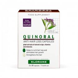 Klorane Quinoral - 60 cápsulas