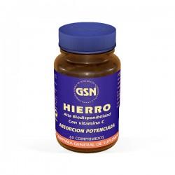 GSN Hierro con Vitamina C - 60 comprimidos