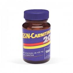 GSN Carnitina 20 (L-Carnitina) - 80 comprimidos