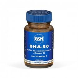 GSN DHA-50 - 60 perlas