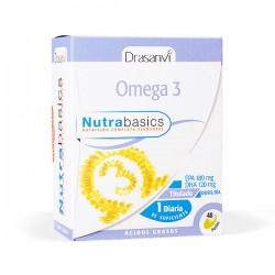 Drasanví Nutrabasics Omega 3 - 48 perlas